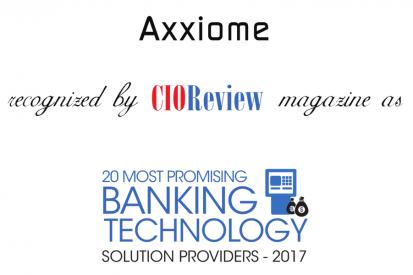 Axxiome Digital uznany bardzo obiecującym rozwiązaniem dla branży!