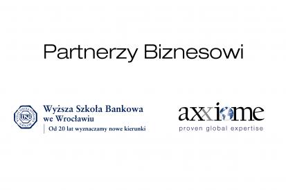 Axxiome Partnerem Biznesowym Wyższej Szkoły Bankowej we Wrocławiu